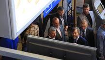 """Фотофакт: в аэропорту Одессы заблокировали членов """"Оппозиционного блока"""""""