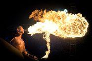 Перші всеукраїнські вогняні змагання: як  учасники дивували публіку