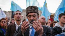 В оккупированной Евпатории массово задержали крымских татар