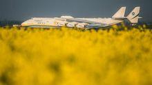 Український літак-гігант приземлявся в Австралії: з'явилися фото і відео