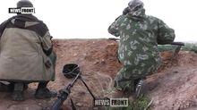 """Террористы """"засветили"""" свои позиции под Донецком: опубликовано видео"""