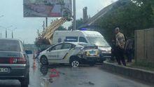 ДТП с участием патрульных в Харькове: появились фото