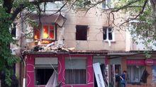 В Одесі стався вибух, горить будинок