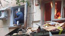 Появились фото с места смертельного взрыва в Одессе