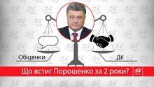 Что сделал Порошенко за 2 года — в инфографике