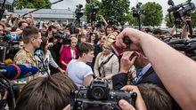 Савченко не захотела обниматься с Тимошенко