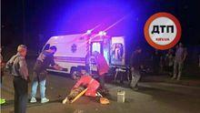 Внедорожник тяжело травмировал девушку и скрылся с места ДТП: появились фото