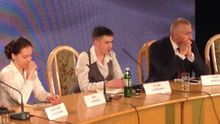 Савченко розповіла, чим займеться в Україні