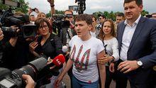Савченко рассказала, чем займется в Верховной Раде