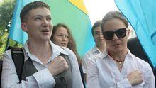 Главное за сутки: Савченко о Путине и президентстве, санкции против пропагандистов