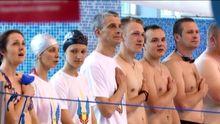 Для бійців АТО провели перший чемпіонат з плавання