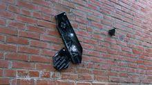 В Полтаве массово уничтожили мемориальные доски участникам АТО