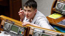 Савченко зарегистрировала первый законопроект после возвращения из России