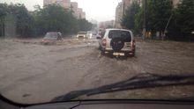 Сумасшедший ливень затопил Одессу