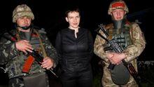Савченко ночью поехала в зону АТО: опубликованы фото