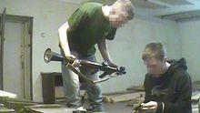 СБУ обнародовала видео задержания иностранца, который планировал теракты во Франции