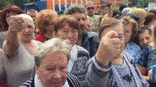 В Одессе пенсионеры протестуют против переименования проспекта в честь Небесной Сотни