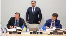 Украина подписала с НАТО стратегическое соглашение