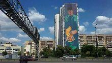 Київ прикрасили новим яскравим муралом: з