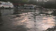 Через потужну зливу Чернівці пішли під воду: з