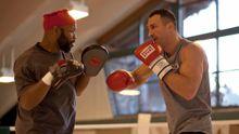 Четверо великанов помогают Кличко в подготовке к бою-реваншу