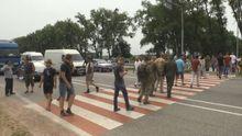 Участники АТО прибегли к радикальным действиям, чтобы получить свою землю