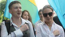 Савченко відповіла Геращенку щодо переписки з терористами