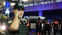 Нові жахливі кадри моменту вибуху в аеропорту Стамбула