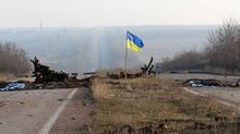 Понад півсотні терористів не насмілюються збити український прапор у Мар