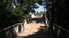 Мистический мост влюбленных в Черкассах, который притягивает самоубийц