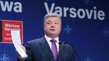 Порошенко різко відповів російським журналістам на саміті НАТО