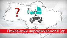 Місце України у світовому рейтингу народжуваності