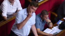 """Нардеп от """"Оппоблока"""" показал вульгарный жест в Раде: появилось видео"""