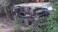 Смертельна ДТП у Запорізькій області: легковик врізався у вантажівку