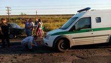 """Вооруженные до зубов бандиты напали на инкассаторов """"Ощадбанка"""": опубликованы фото"""