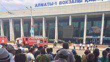 Стрельба в Алматы: появились первые видео