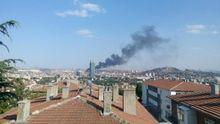 Столб черного дыма стоит над Анкарой: появились ужасающие фото и видео