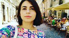 На журналистку напали в парке Киева: опубликованы фото
