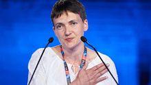 Савченко поділилась власним баченням санкцій проти Росії