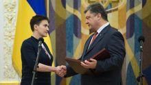 Украинцы требуют забрать у Савченко звание Героя Украины