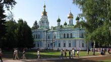 Церковь Московского патриархата украсили антиукраинской символикой в Полтаве