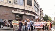 Вкладчики обанкротившихся банков перекрыли улицы в Киеве
