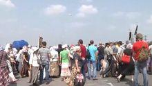 Хресна хода під Борисполем відновила свій рух на Київ