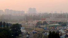Власти Киева рассказала, откуда появился едкий дым над городом