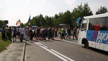 Шахтарі, яким не виплачують зарплату, перекрили трасу на Львівщині