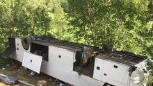 Смертельная авария туристического автобуса с украинцами: появились фото