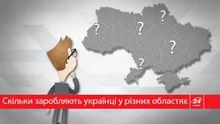 Как отличаются заработные платы украинцев в разных областях: интересная статистика