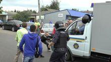 Самосуд над полицейскими за убийство местного жителя устроили в Николаеве