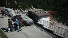 Новое землетрясение всколыхнуло Италию