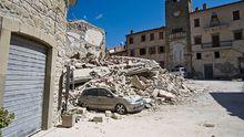 Зросла кількість жертв нищівного землетрусу в Італії